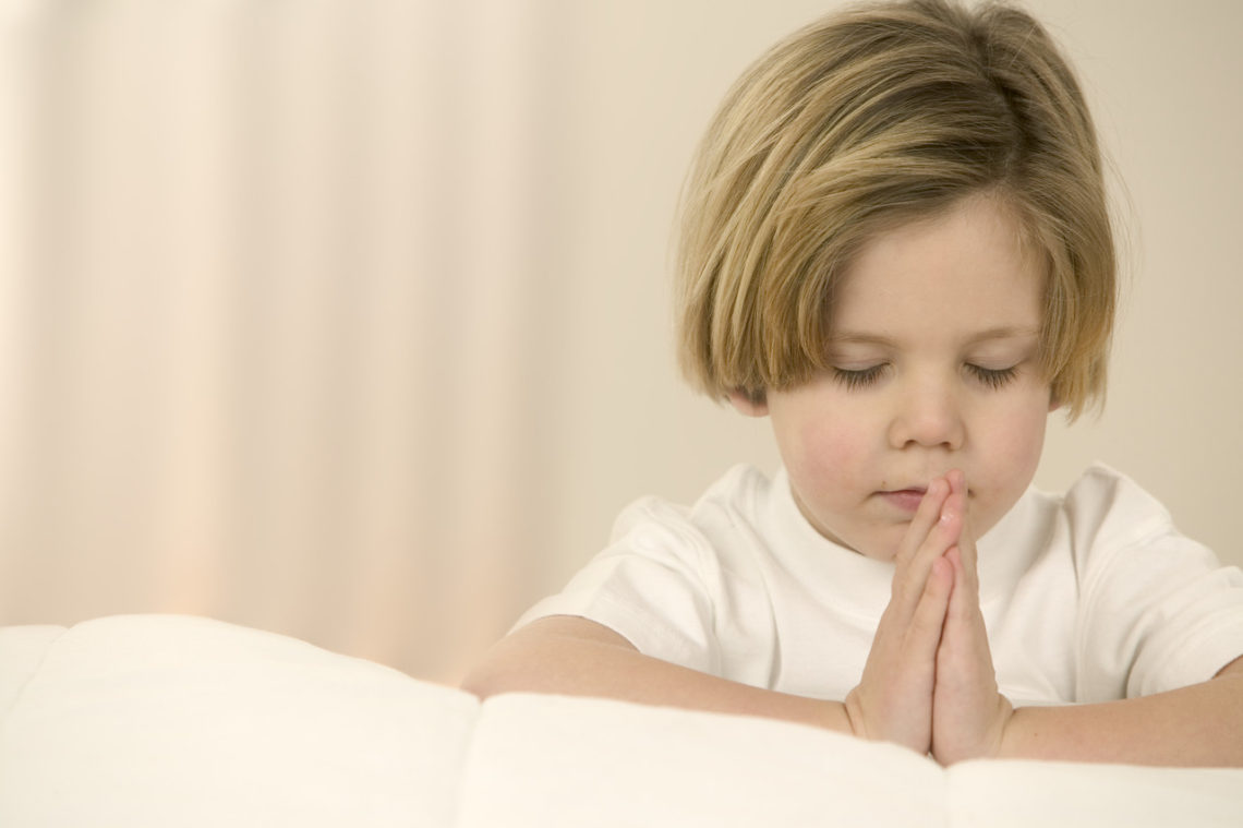 Child Praying January 22, 2004